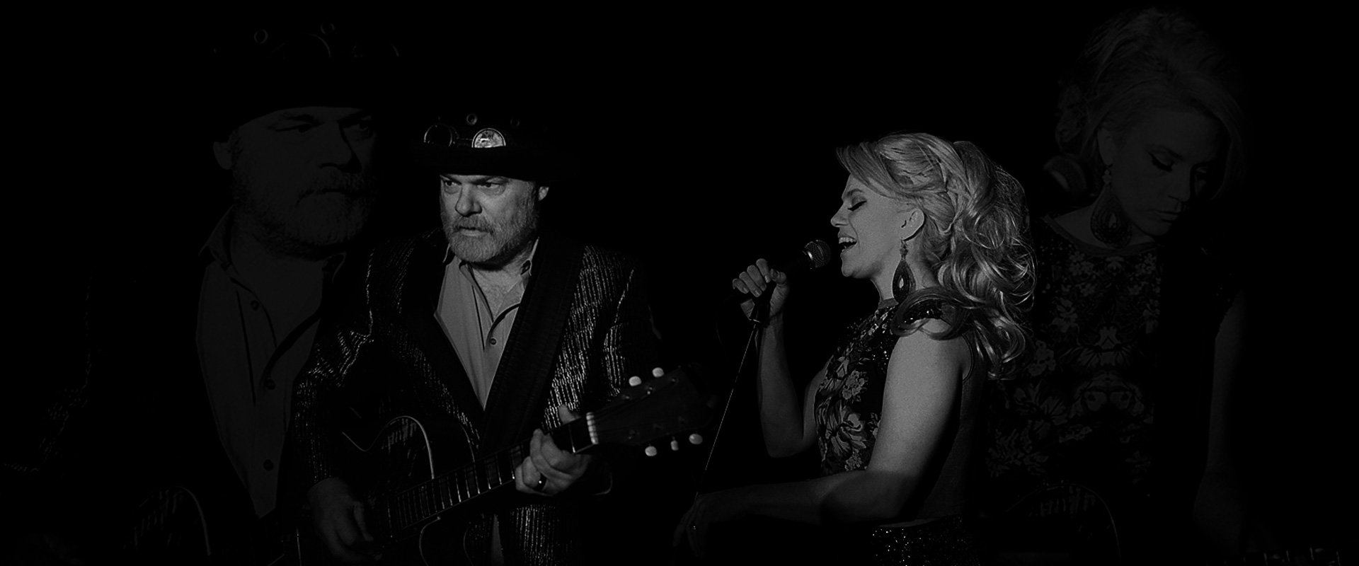 Fred Eaglesmith and Tif Ginn performing